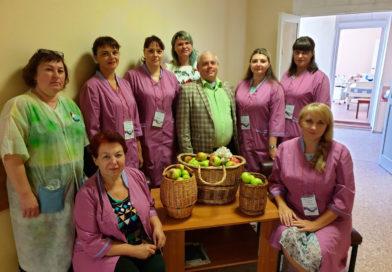 Яблочный Спас в Липецкой больнице