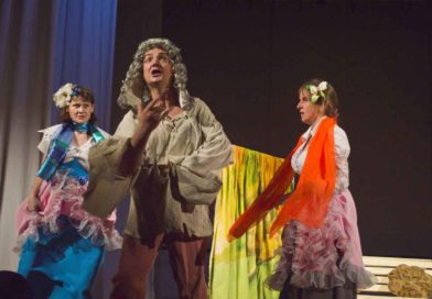 «Урок дочкам» – премьера спектакля в театре «Лестница»